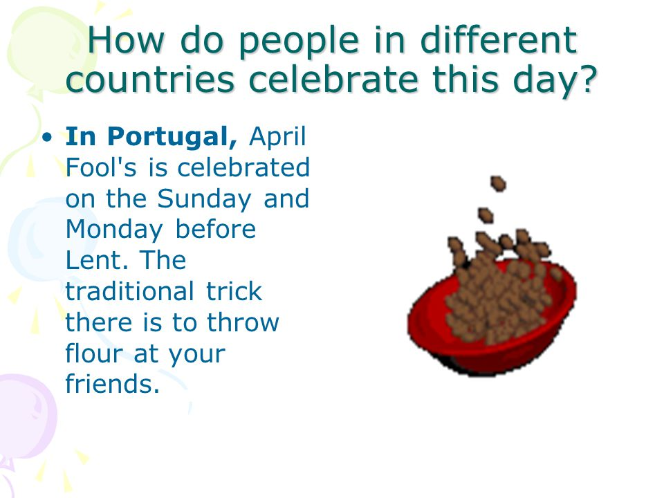 How do people in different countries celebrate this day.