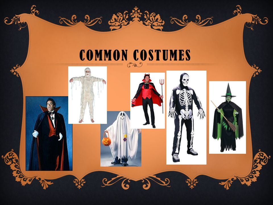 COMMON COSTUMES