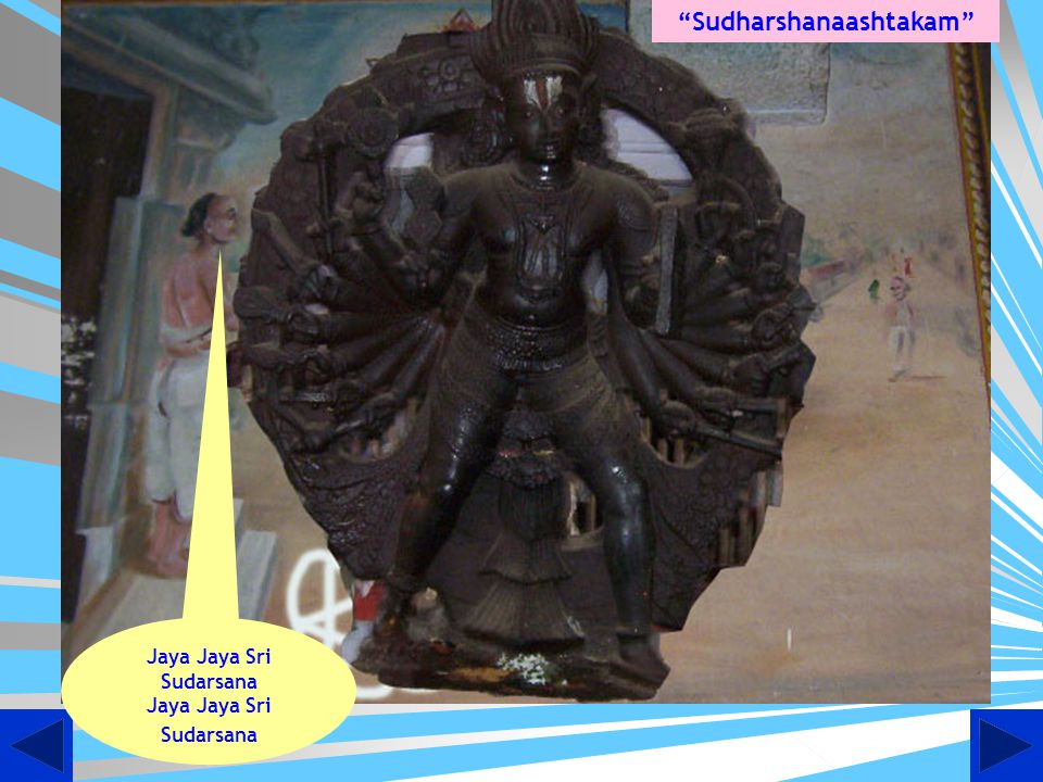 Birth of Sudharshanaashtakam at Thiruputkuzhi