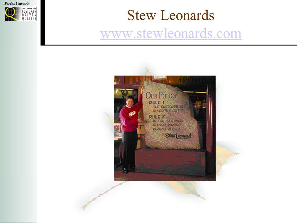 Purdue University Stew Leonards www.stewleonards.com www.stewleonards.com