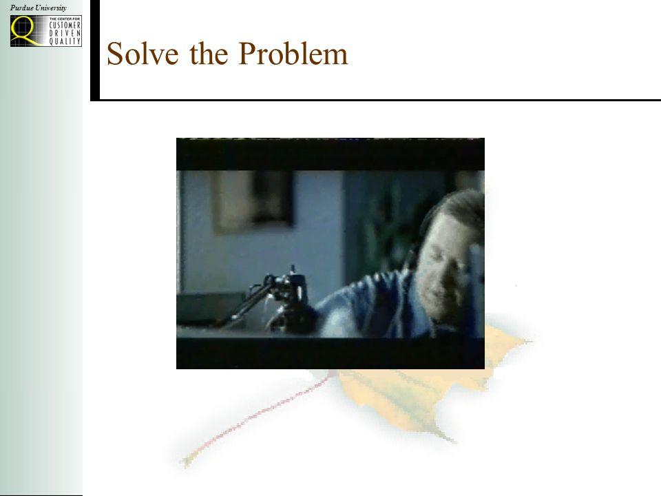 Purdue University Solve the Problem