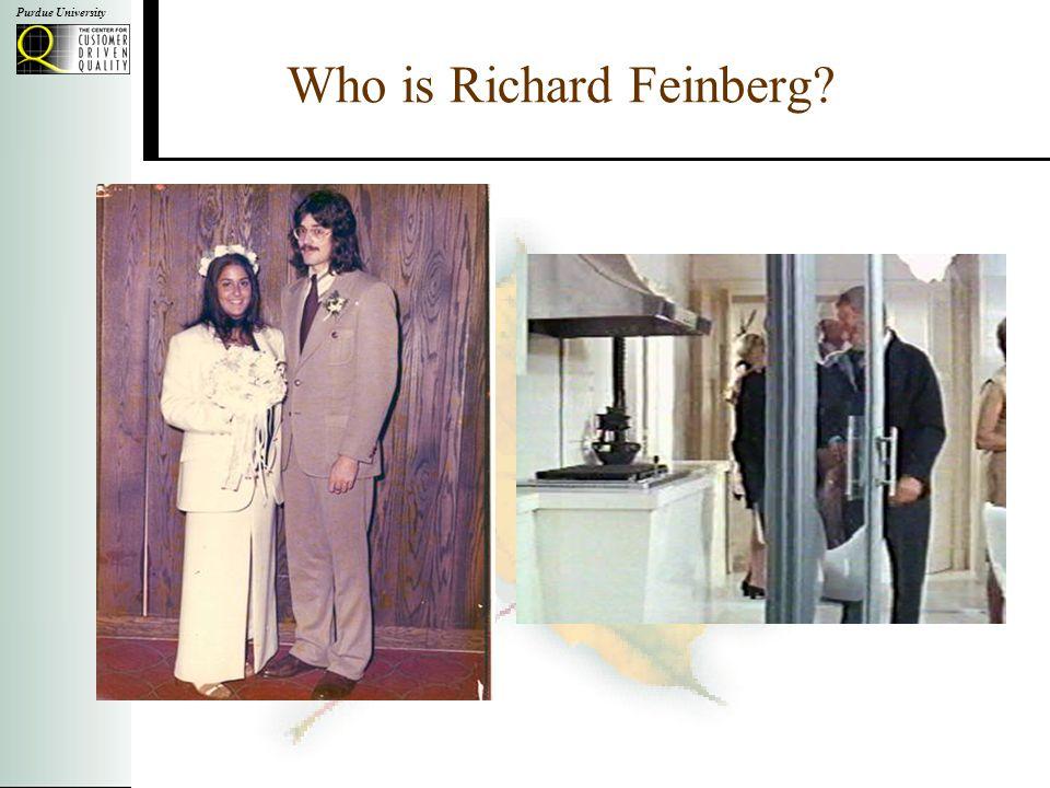 Who is Richard Feinberg?