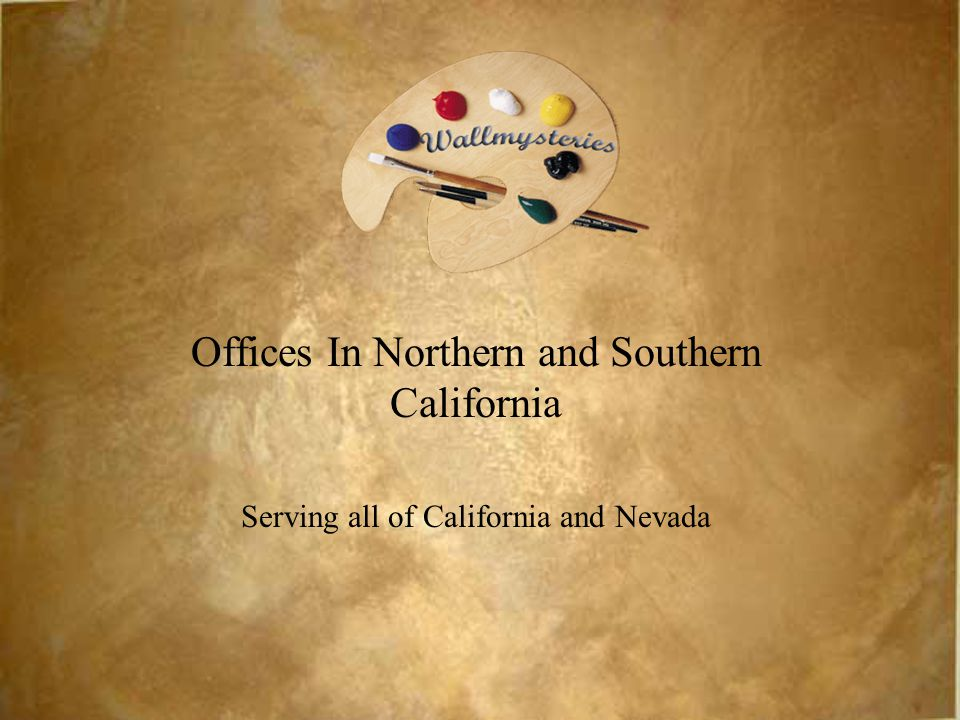 Offices In Northern and Southern California Serving all of California and Nevada