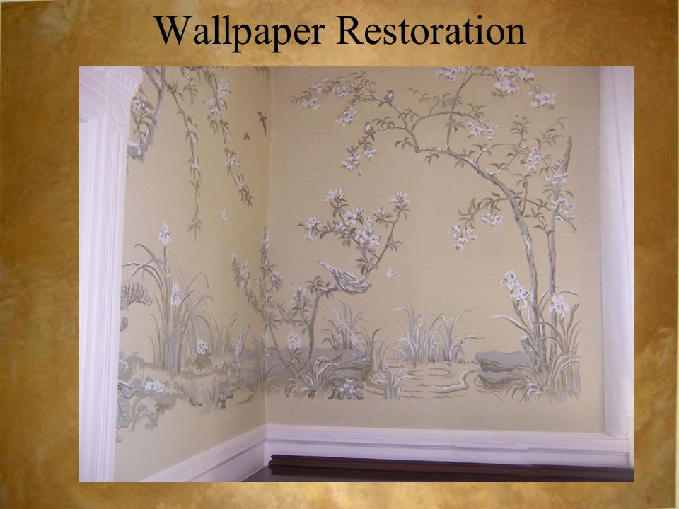 Wallpaper Restoration