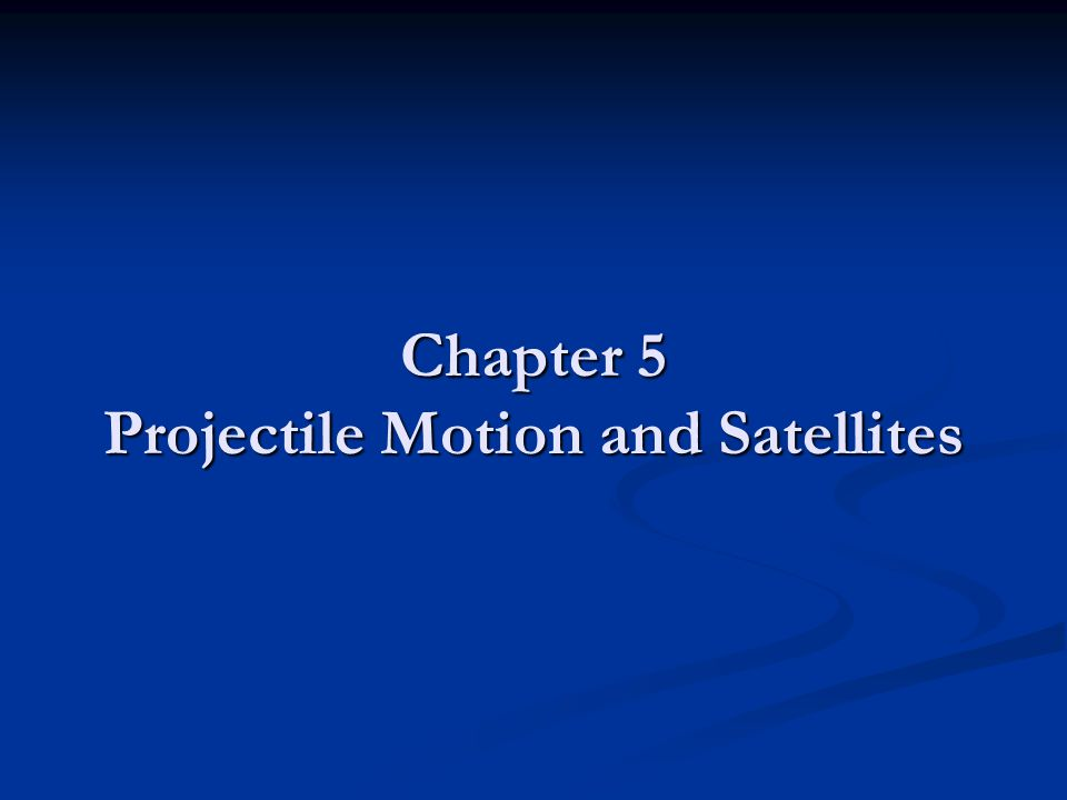 Projectile Motion Describe the motion of an object in TWO dimensions Describe the motion of an object in TWO dimensions Keep it simple by considering motion close to the surface of the earth for the time being Keep it simple by considering motion close to the surface of the earth for the time being Neglect air resistance to make it simpler Neglect air resistance to make it simpler