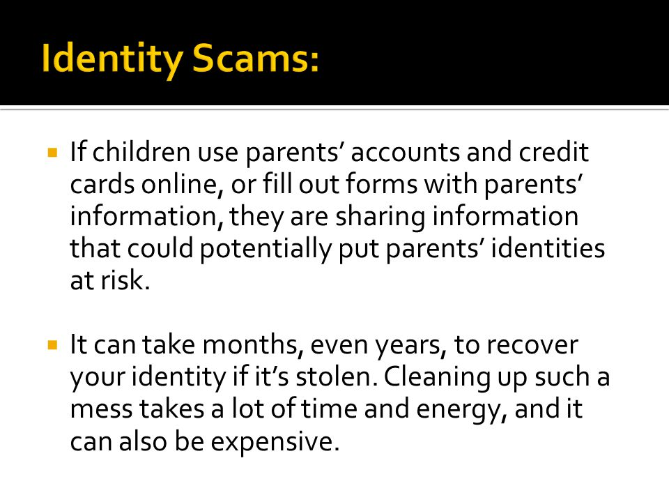 A final activity to help you avoid scams and schemes.