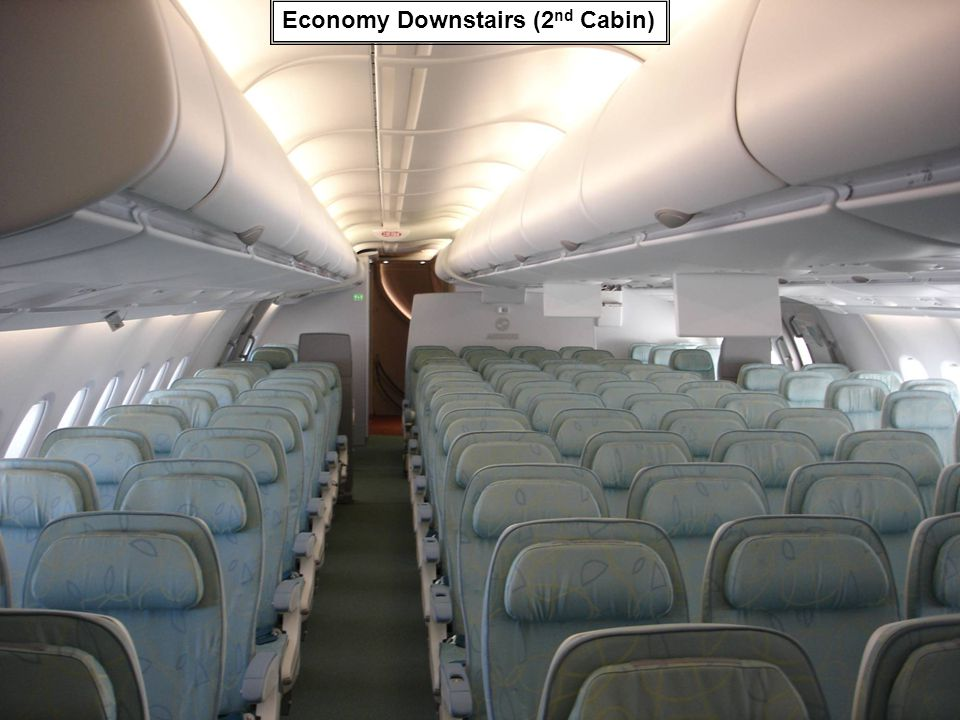Economy Downstairs (2 nd Cabin)