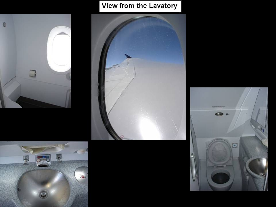 View from the Lavatory