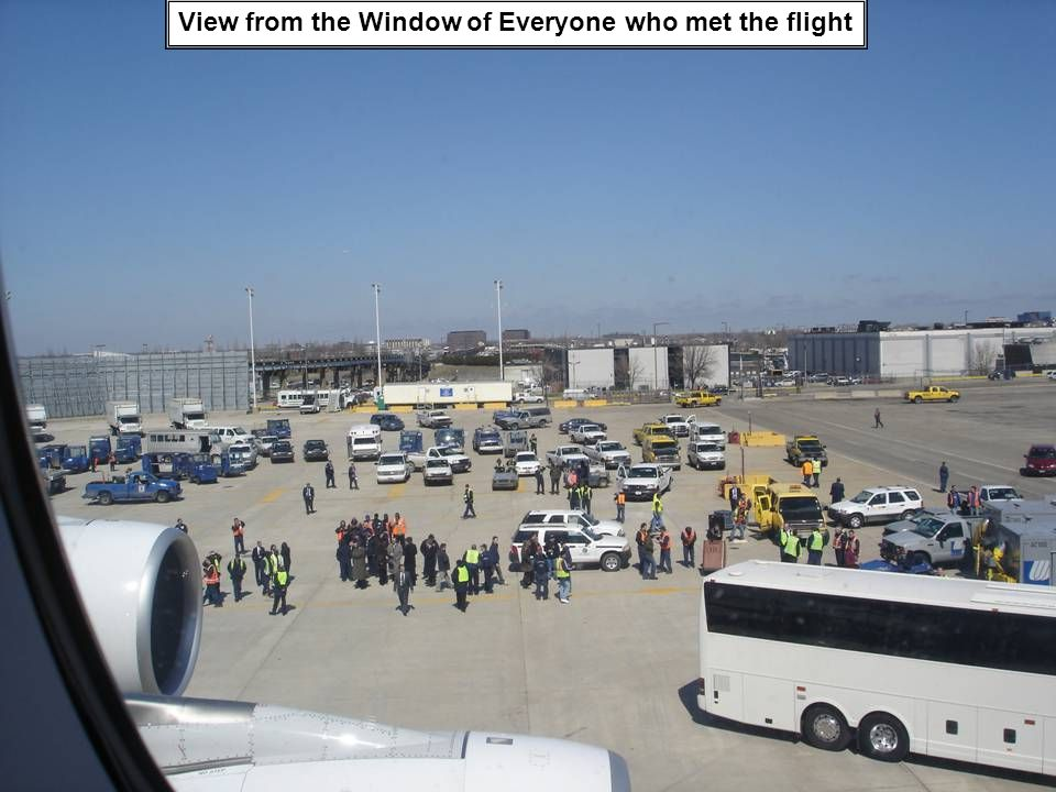 View from the Window of Everyone who met the flight