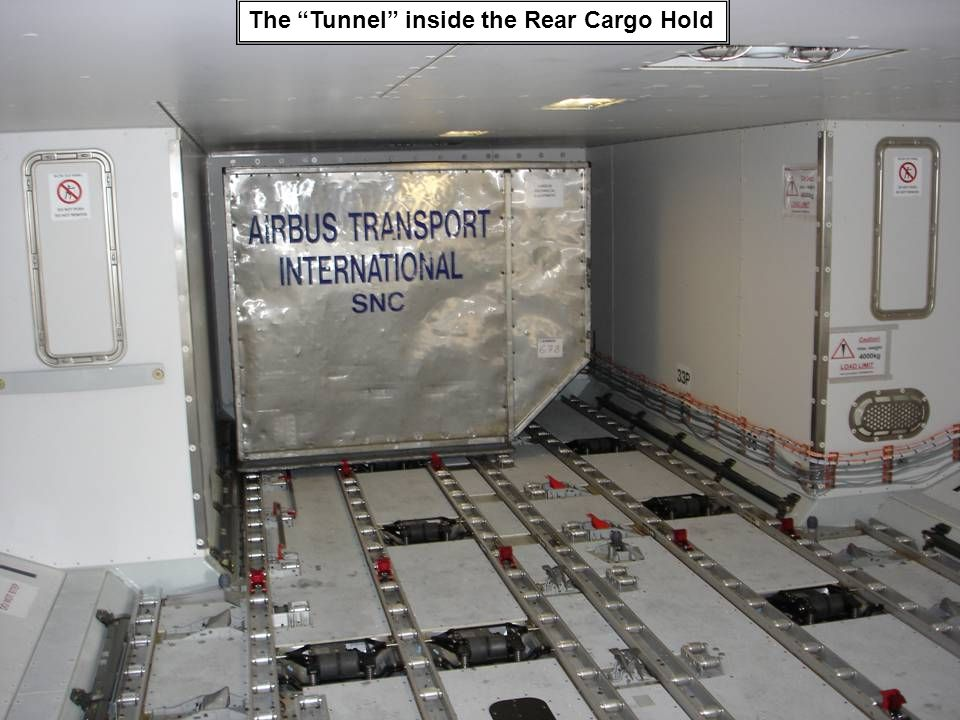 The Tunnel inside the Rear Cargo Hold