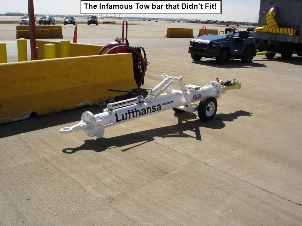 The Infamous Tow bar that Didn't Fit!