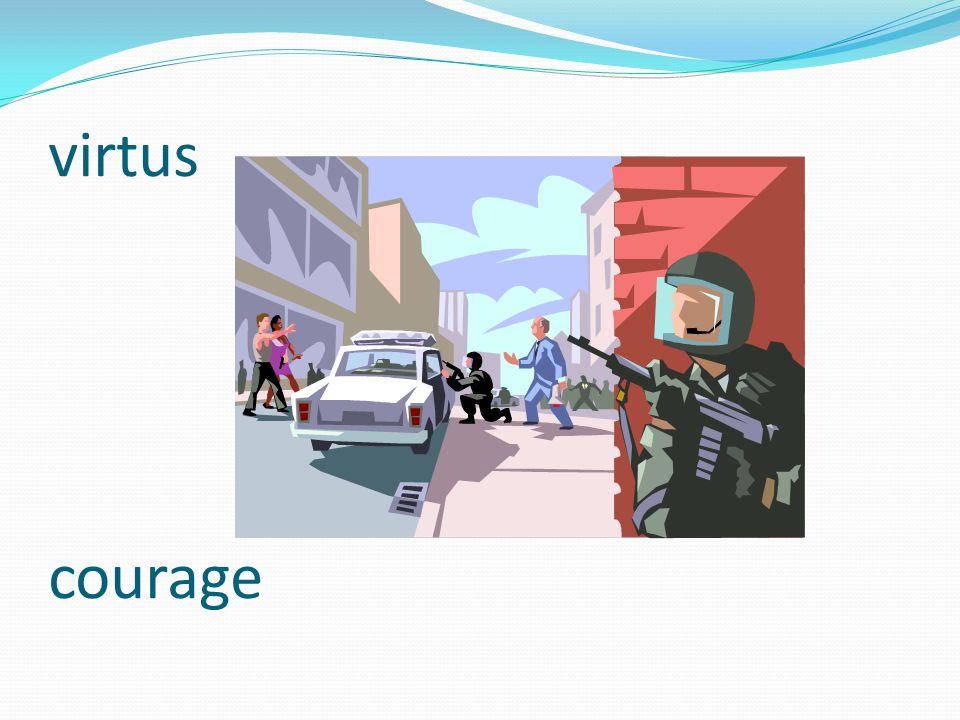 virtus courage