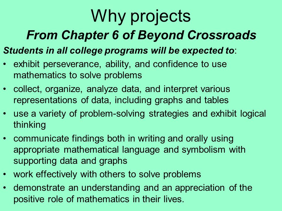 What is a Project .