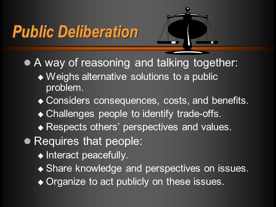 20 Oklahoma Partnership for Public Deliberation