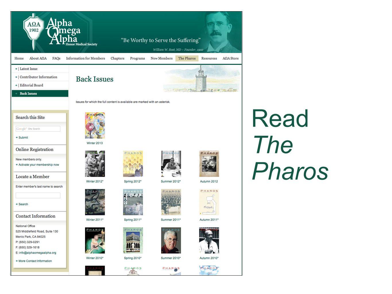 Read The Pharos