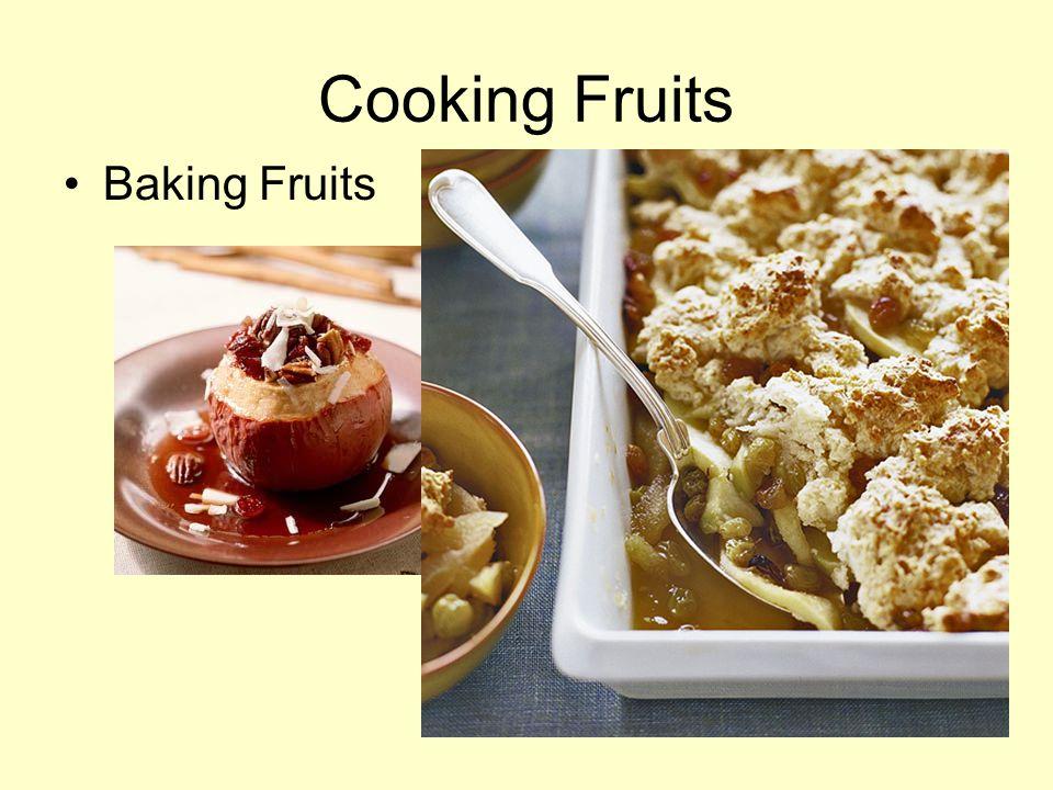 Cooking Fruits Baking Fruits