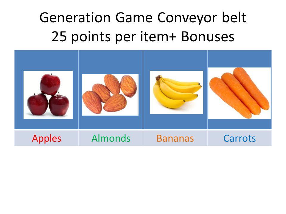 Generation Game Conveyor Belt Cuddly Toys