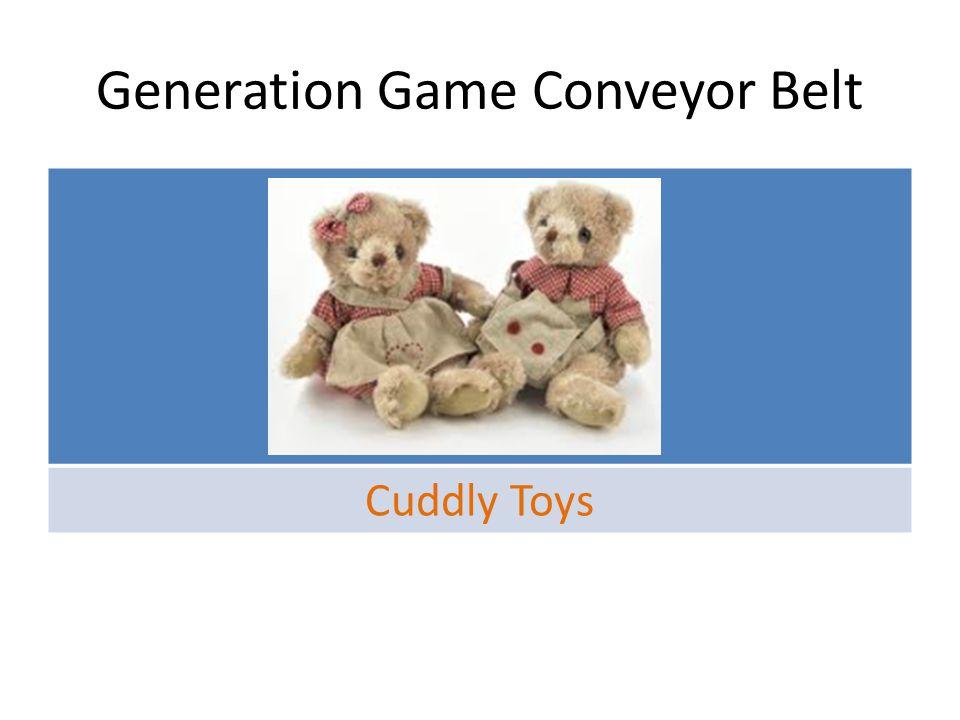 Generation Game Conveyor belt DamsonsDatesGinger
