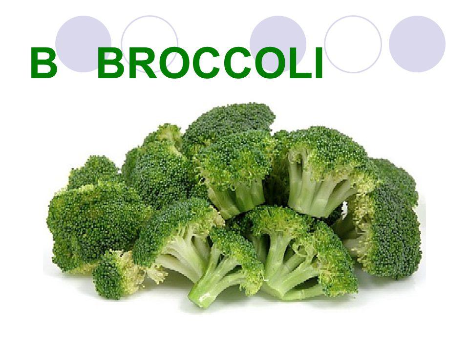 B BROCCOLI
