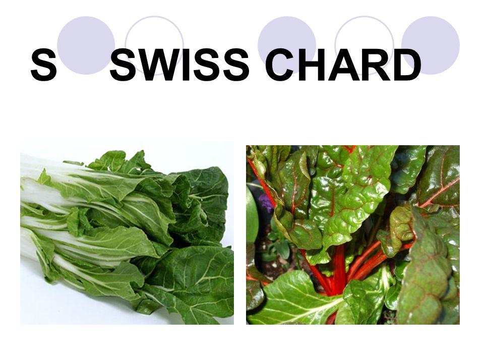 S SWISS CHARD