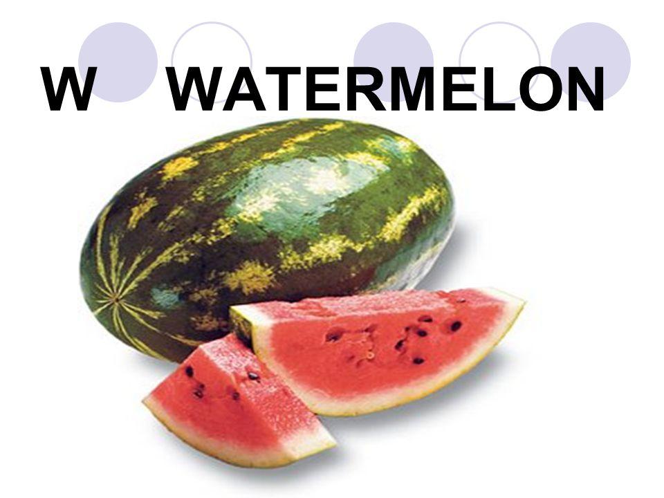 W WATERMELON