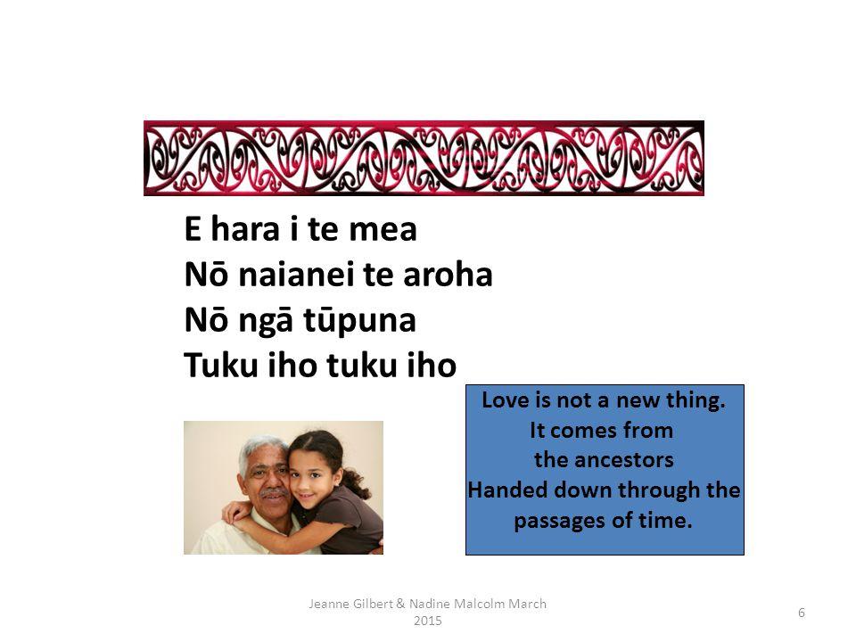 Whakatau Jeanne Gilbert & Nadine Malcolm 20155