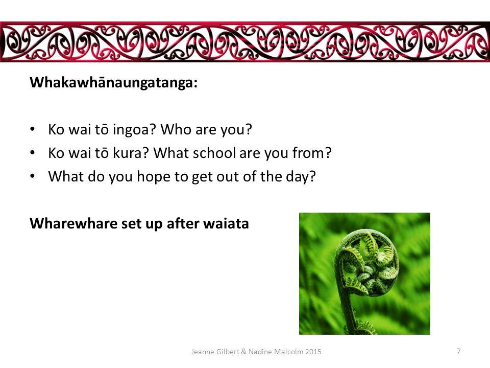 E hara i te mea Nō naianei te aroha Nō ngā tūpuna Tuku iho tuku iho Jeanne Gilbert & Nadine Malcolm March 2015 6 Love is not a new thing.
