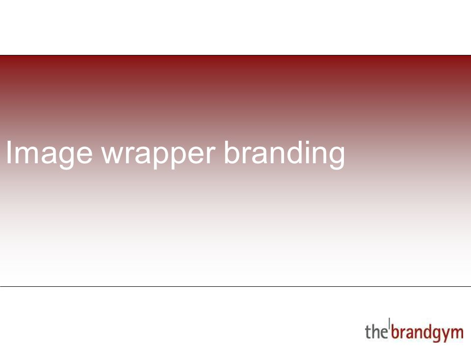 2 May, 2015 Image wrapper branding