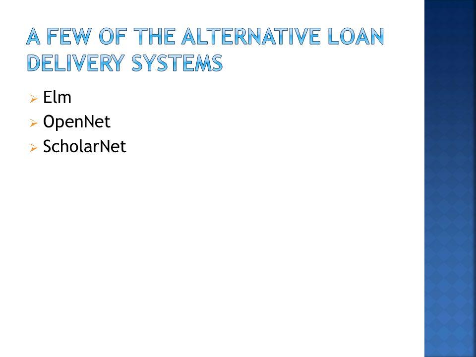  Elm  OpenNet  ScholarNet