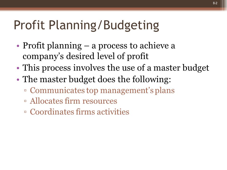 8-13 Learning Objective 2 Prepare a sales budget, including a schedule of expected cash collections.