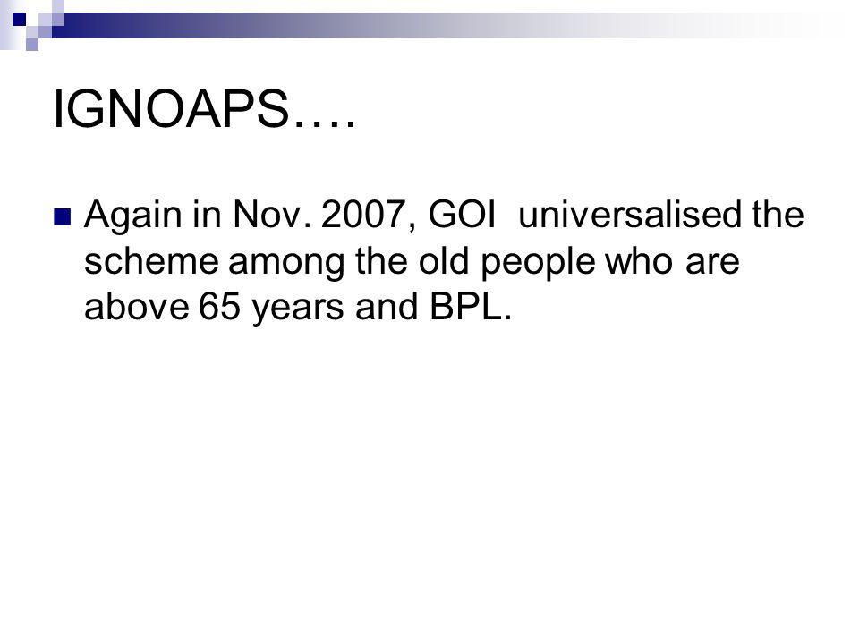 IGNOAPS…. Again in Nov.