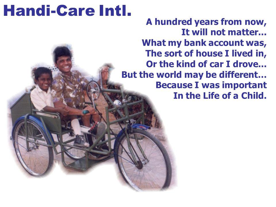 What is Handi-Care Intl.??.