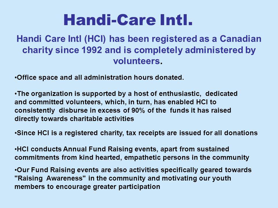 Aim For Seva Swami Vivekananda Education Society Others SEVA SADAN Other organizations that have benefited from Handi- Care Intl.