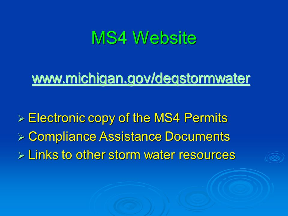 What is a MS4.What is a MS4.