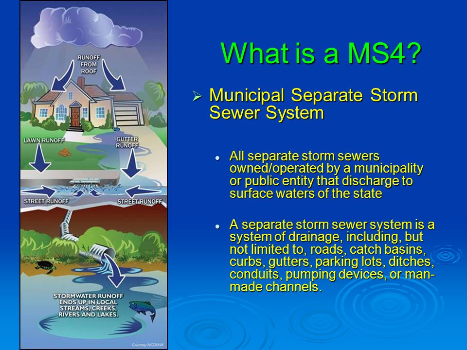 P2/GH Structural Storm Water Control  Type and Number of Structural Controls owned/operated