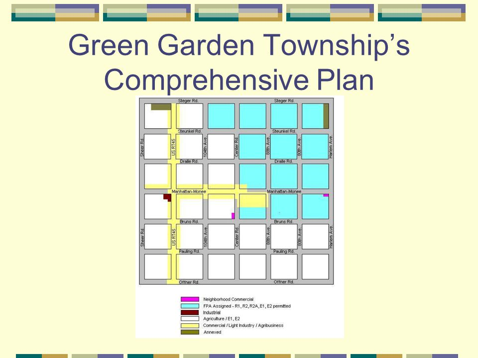 Green Garden Township's Comprehensive Plan