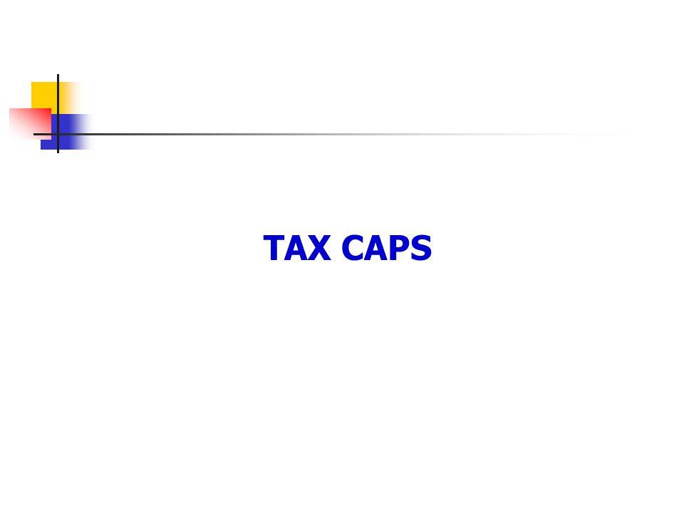 TAX CAPS