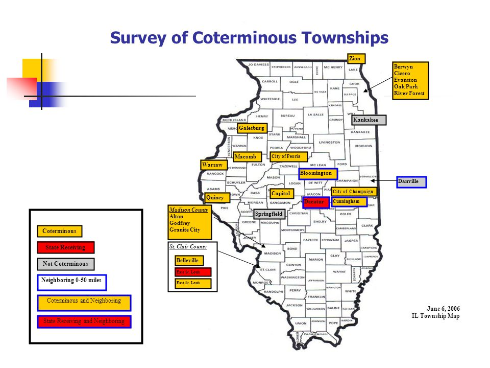 General Assistance Often considered the public assistance of the last resort. Administered throughout Illinois by Township Supervisors (except Chicago).