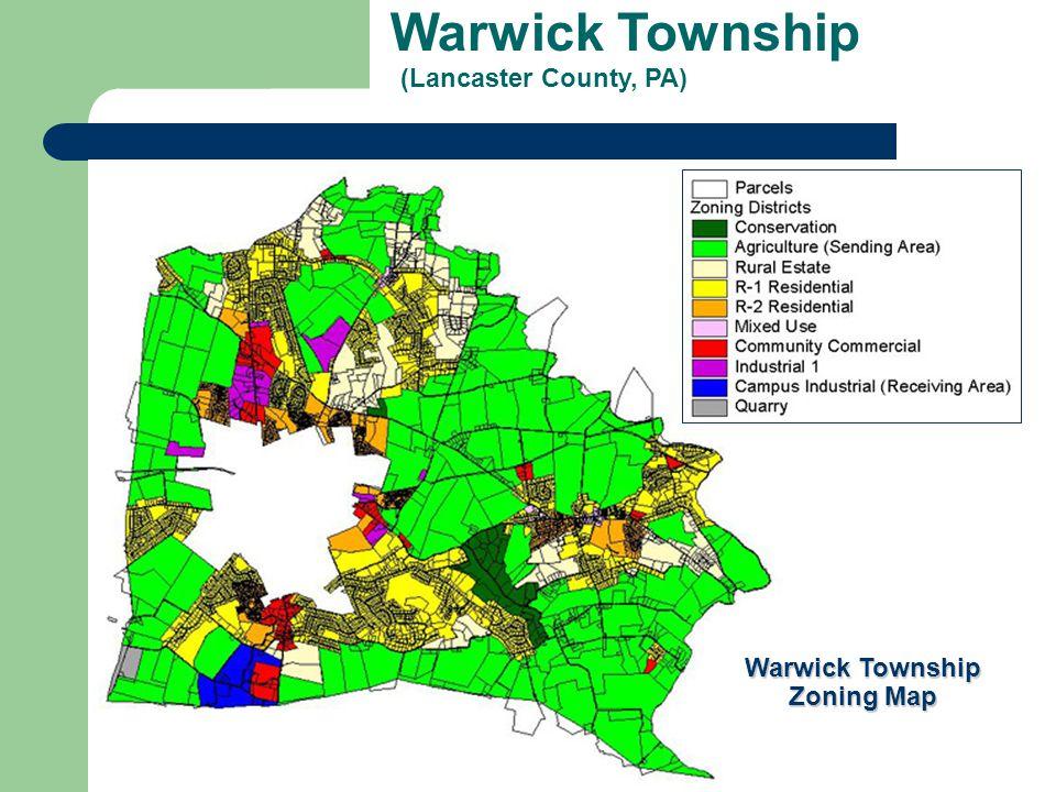 Warwick Township (Lancaster County, PA) Warwick Township Zoning Map