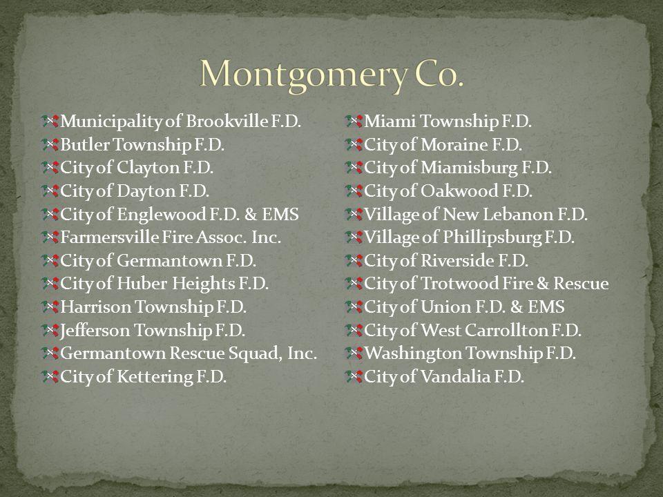 Municipality of Brookville F.D. Butler Township F.D.