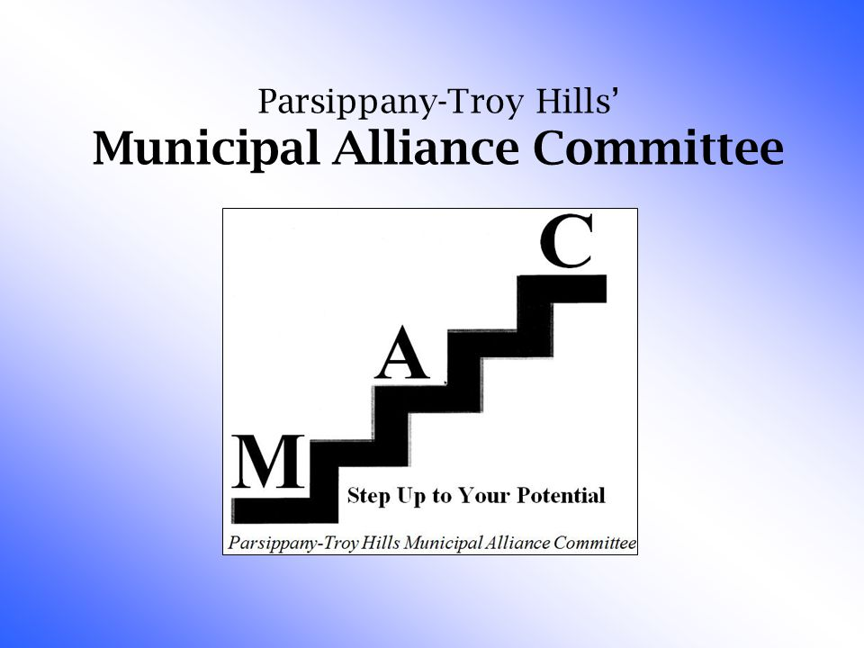 Parsippany-Troy Hills' Municipal Alliance Committee