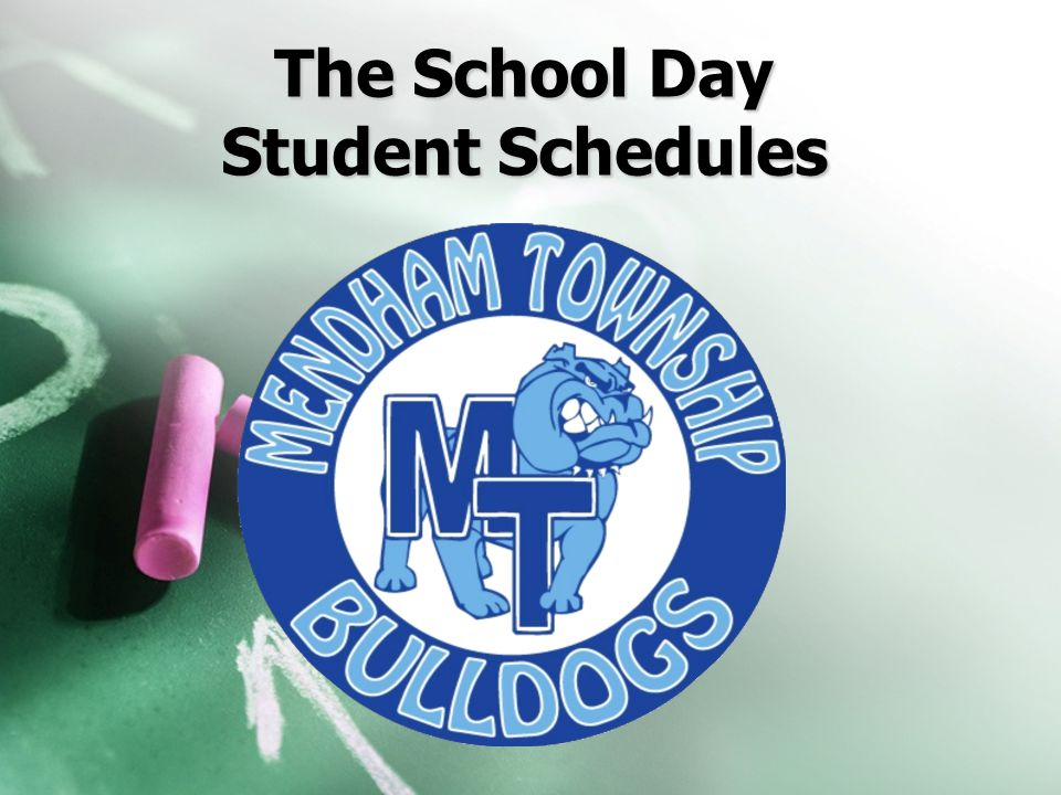 The School Day Student Schedules