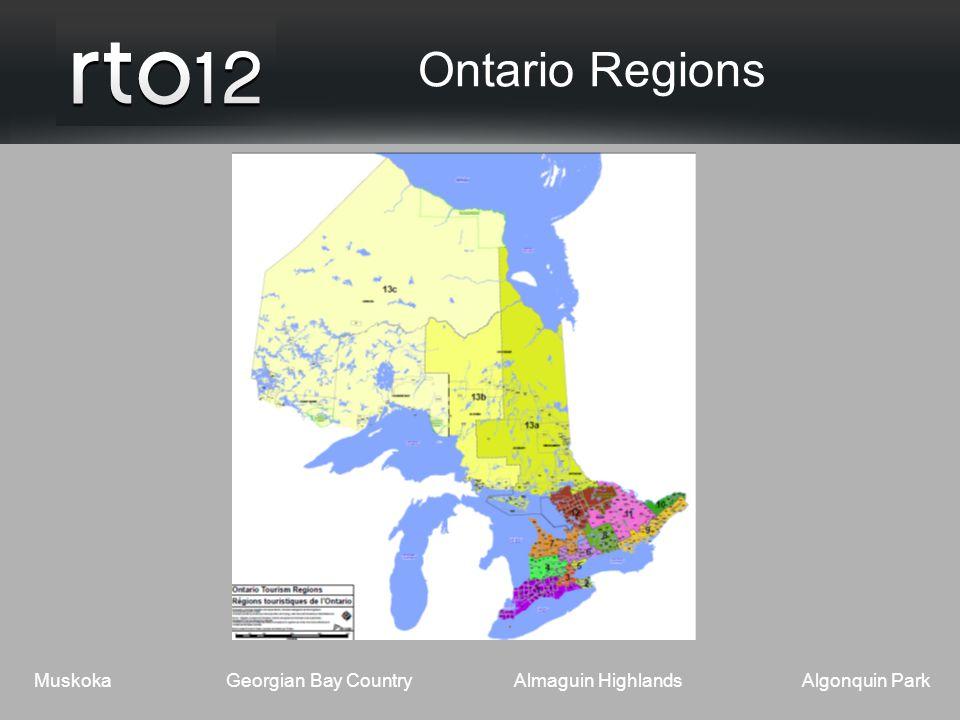MuskokaGeorgian Bay CountryAlmaguin HighlandsAlgonquin Park Ontario Regions