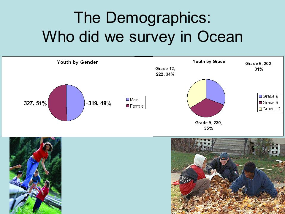 The Demographics: Who did we survey in Ocean