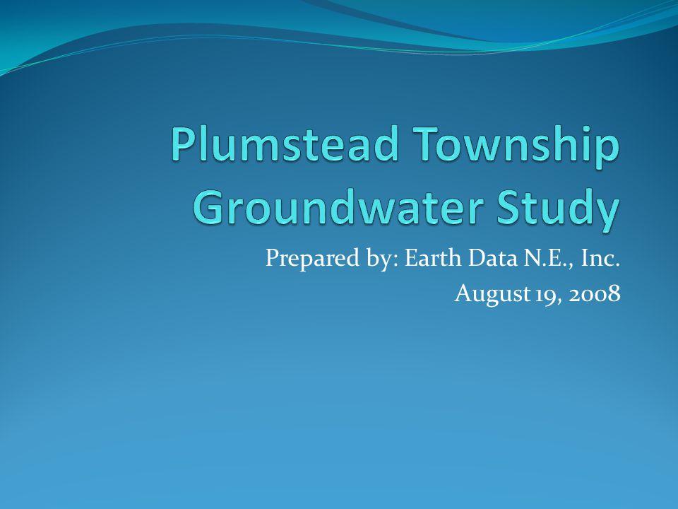 Prepared by: Earth Data N.E., Inc. August 19, 2008