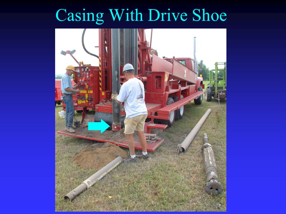 Casing With Drive Shoe