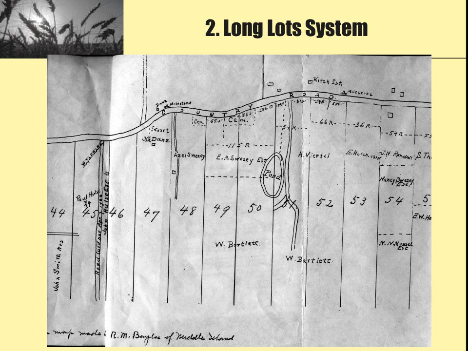 2. Long Lots System