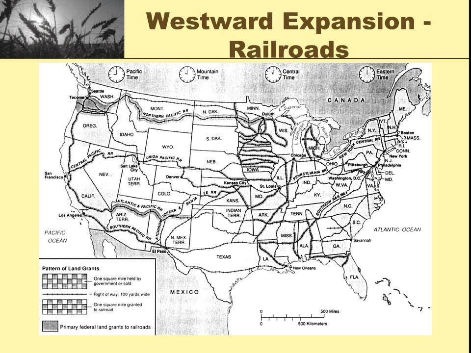 Westward Expansion - Railroads