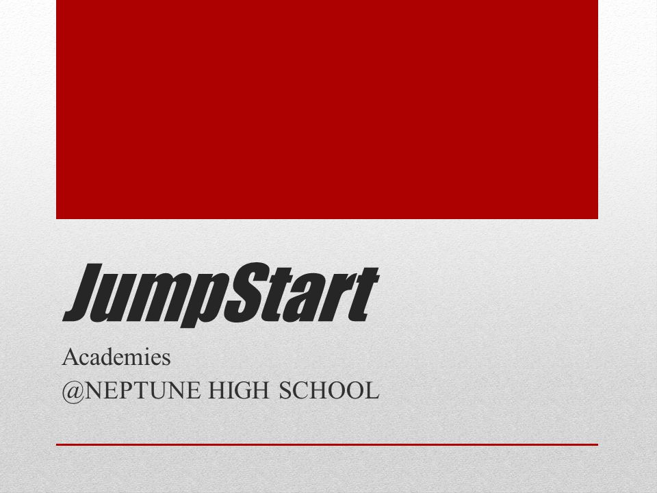 What is JumpStart.