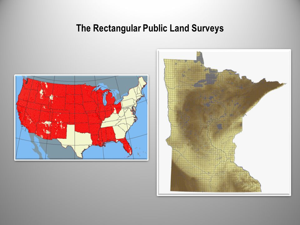 The Rectangular Public Land Surveys